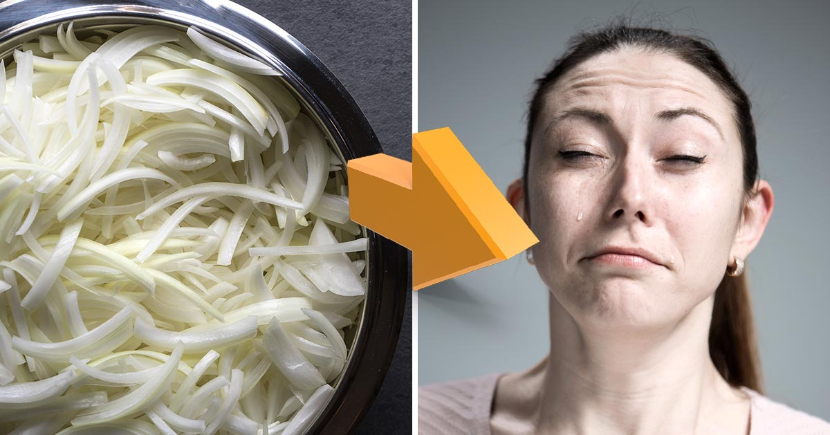 Jak nie płakać podczas krojenia cebuli?