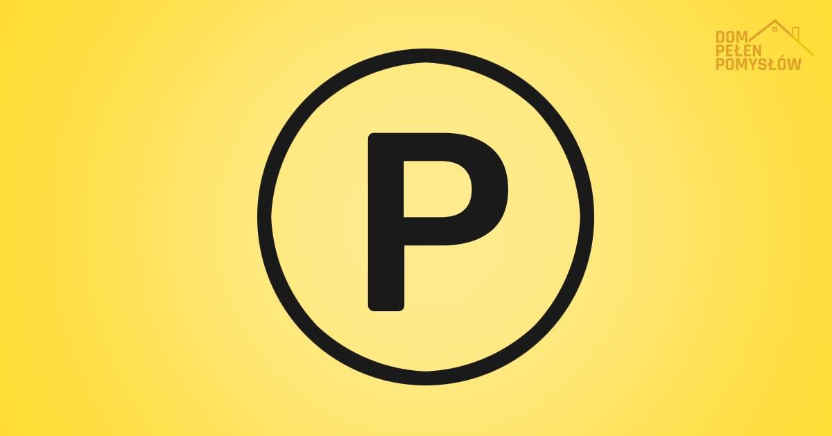 Oznaczenie P na metce – co oznacza p w kółku