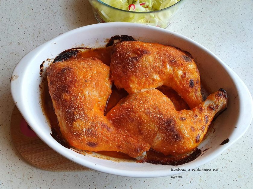Udka z kurczaka po kujawsku.