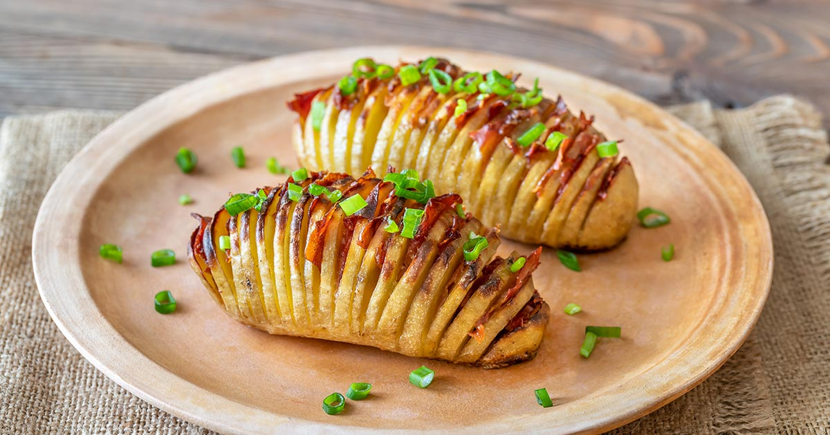 Ziemniaki Hasselback – musisz ich spróbować!