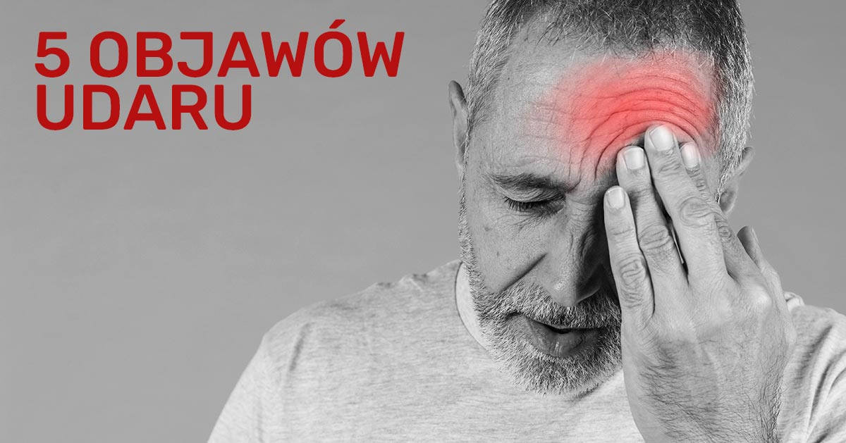 5 objawów udaru, dzięki którym rozpoznasz go u bliskich