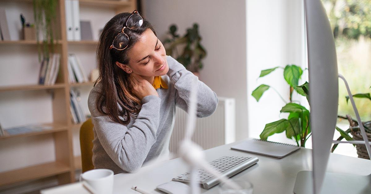 Gdy boli Cię szyja zrób te trzy proste ćwiczenia!