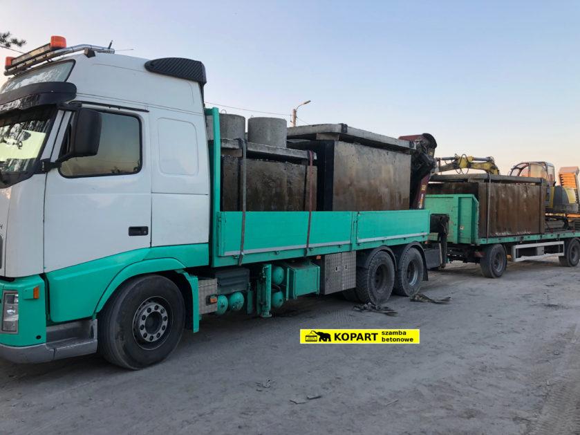 IL1 Transport zbiorników od producenta KOPART