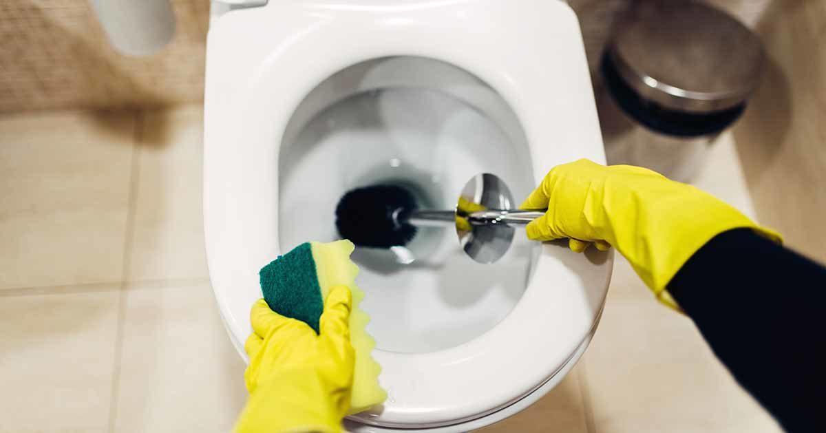 Środek do czyszczenia i dezynfekcji toalety z trzech składników. W pełni naturalny!
