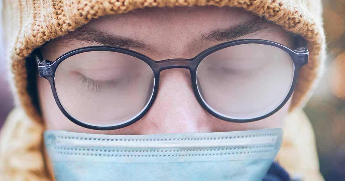 Co zrobić aby okulary nie parowały podczas noszenia maseczki