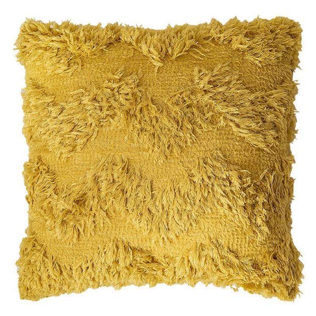 Futrzana poduszka dekoracyjna Boho