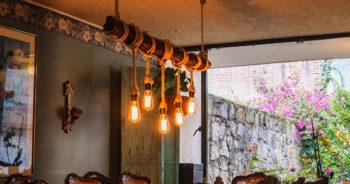 Świetny pomysł na lampę z liny