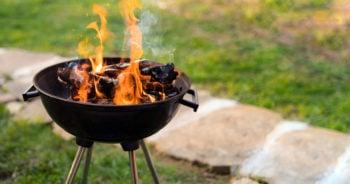 Pomysł na miejsce na ognisko w ogrodzie