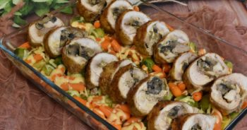 Zapiekane udka z ziemniakami