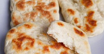Pyszne chlebki z patelni