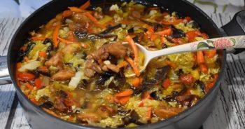 Udka z warzywami w pysznym sosie