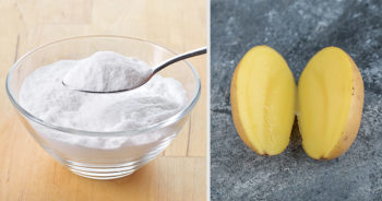 Domowy sposób na rdzę – wykorzystaj sodę oczyszczoną i kawałek ziemniaka!