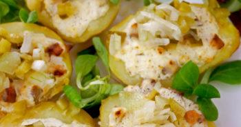 Ziemniaki faszerowane śledziem – pyszny pomysł na obiad